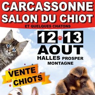 Salon du chiot animaliades de carcassonne conseils for Salon du chiot reze 2017