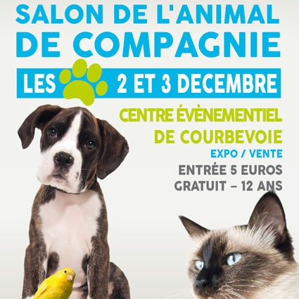 Salon de l animal de compagnie de courbevoie conseils for Salon du chien et chat