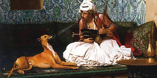 sloughi-levrier-arabe-peinture