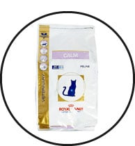 Alimentation Royal canin Veterinary Calm pour le chat anxieux