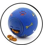jouet alimentaire balle creuse distributrice de croquettes pour chat