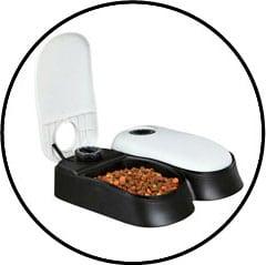 Distributeur automatique de nourriture humide TX2 réfrigérant pour chat sans dents