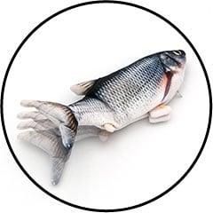 Jouet poisson interactif qui bouge la queue pour le chat