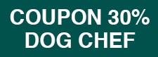 Coupon livraison de plats ou repas cuisinés à domicile Dog Chef pour chien