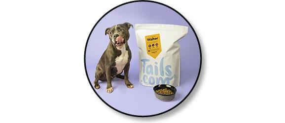 Code promo Tails 1 mois offert de croquettes